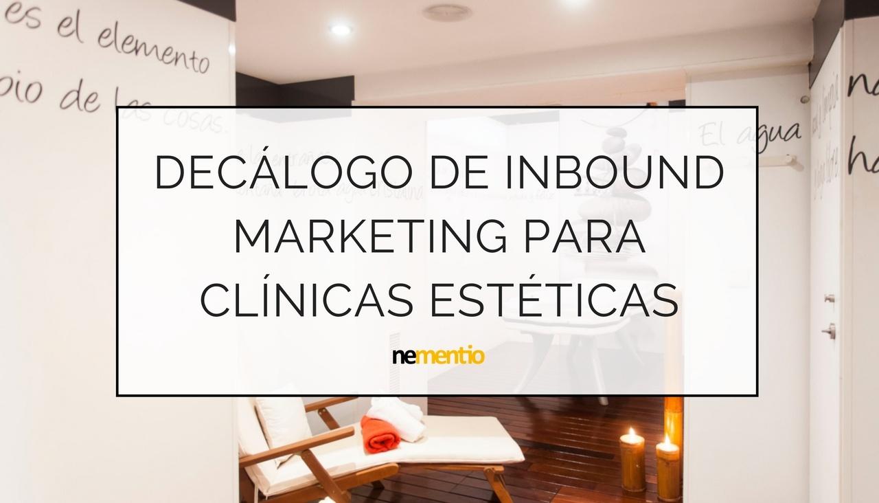 inbound marketing clinicas esteticas