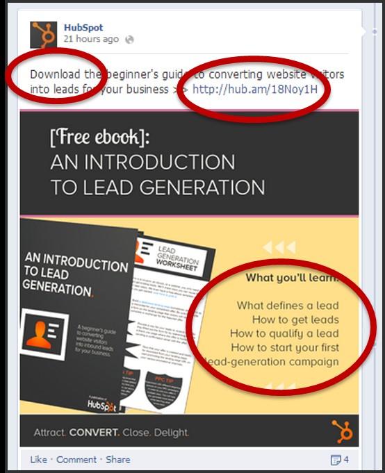 Direct post para conseguir clientes en Facebook