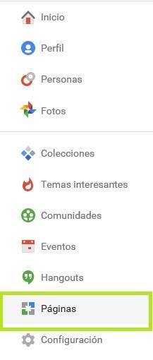 perfil de empresa en google plus 1