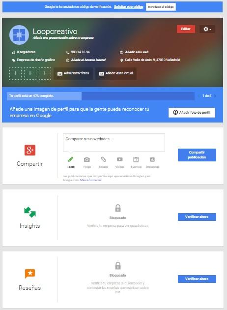 perfil de empresa en google plus 11