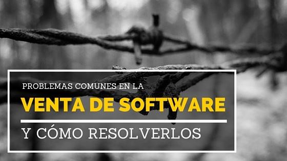 Problemas con la venta de software