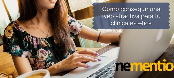 Conseguir una web atractiva para tu clínica estética