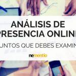 ANÁLISIS DE PRESENCIA ONLINE