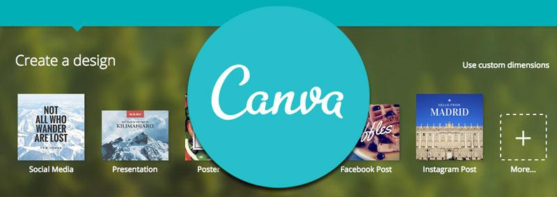 Canva - Crear imagenes para facebook