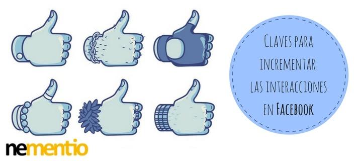 Incrementar interacciones Facebook