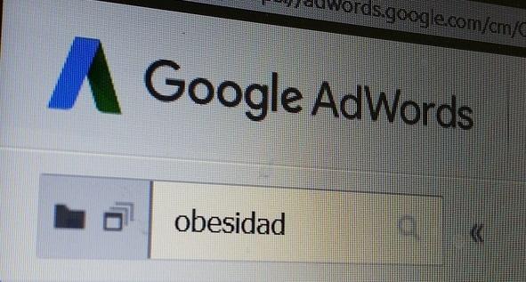google adwords y obesidad