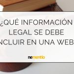INFORMACIÓN LEGAL WEB