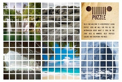 Campaña Twitter Jeep Puzzle