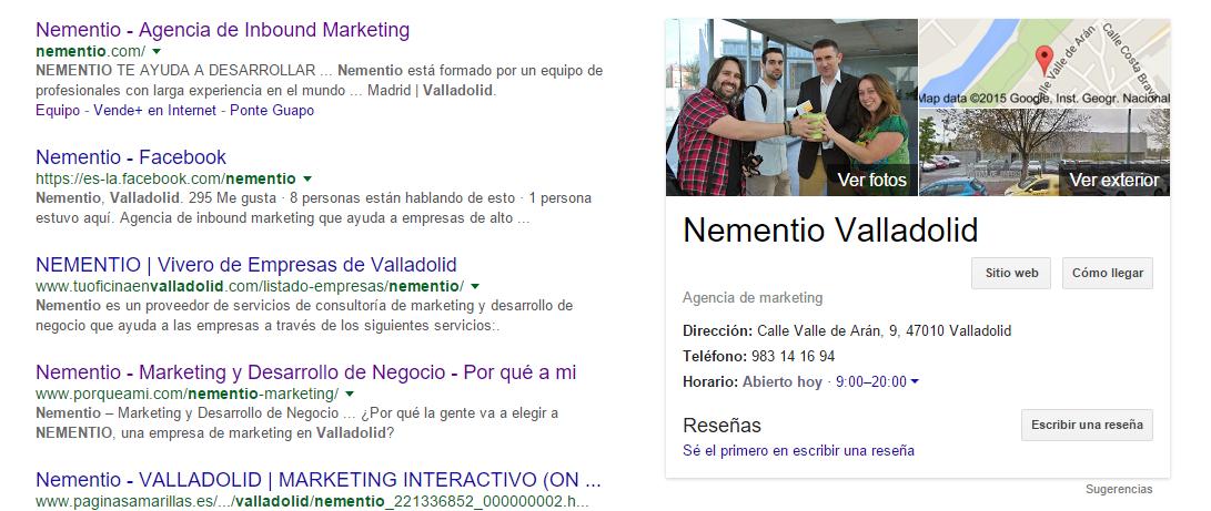 Nuevo Google+ nementio