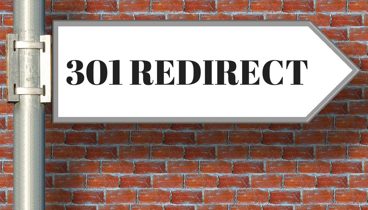 que es el 301 redirect