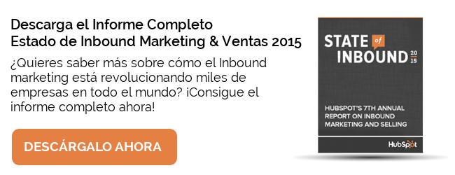 Informe - Estado del Inbound Marketing 2015